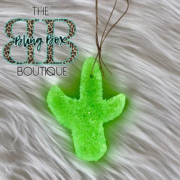 Neon Green Cactus - Nanny's Kitchen Freshie
