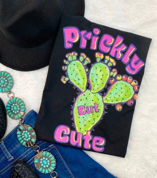 Black Prickly But Cute Tee
