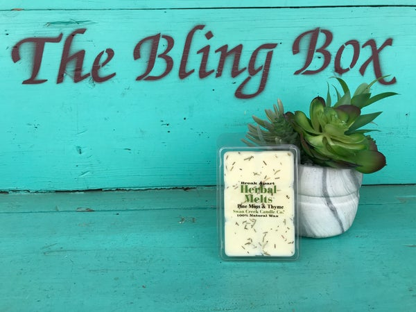 Swan Creek Pine Moss & Thyme Herbal Melts