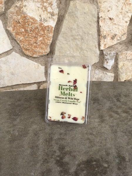 Swan Creek Hibiscus & Wild Rose Herbal Melts