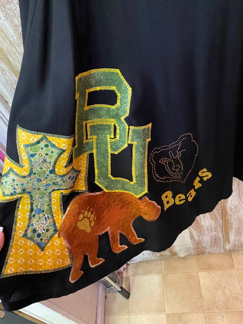 Baylor Bear Black Dress