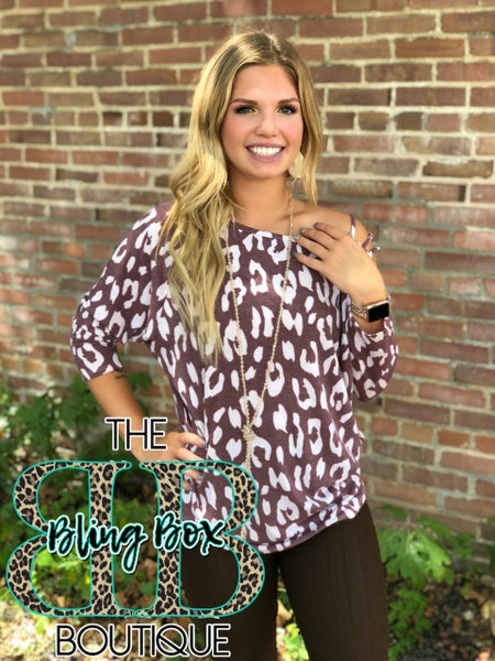 The Lindy Leopard  Wine Top
