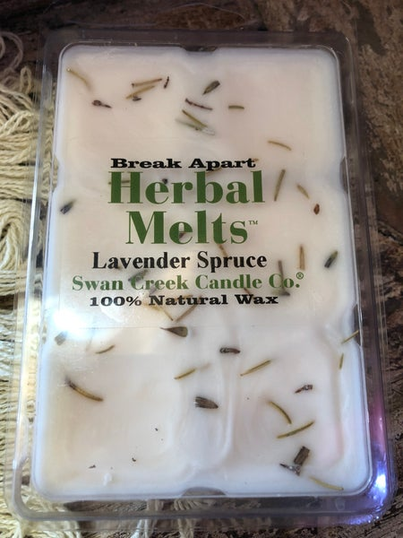 Swan Creek Lavender Spruce Herbal Melts