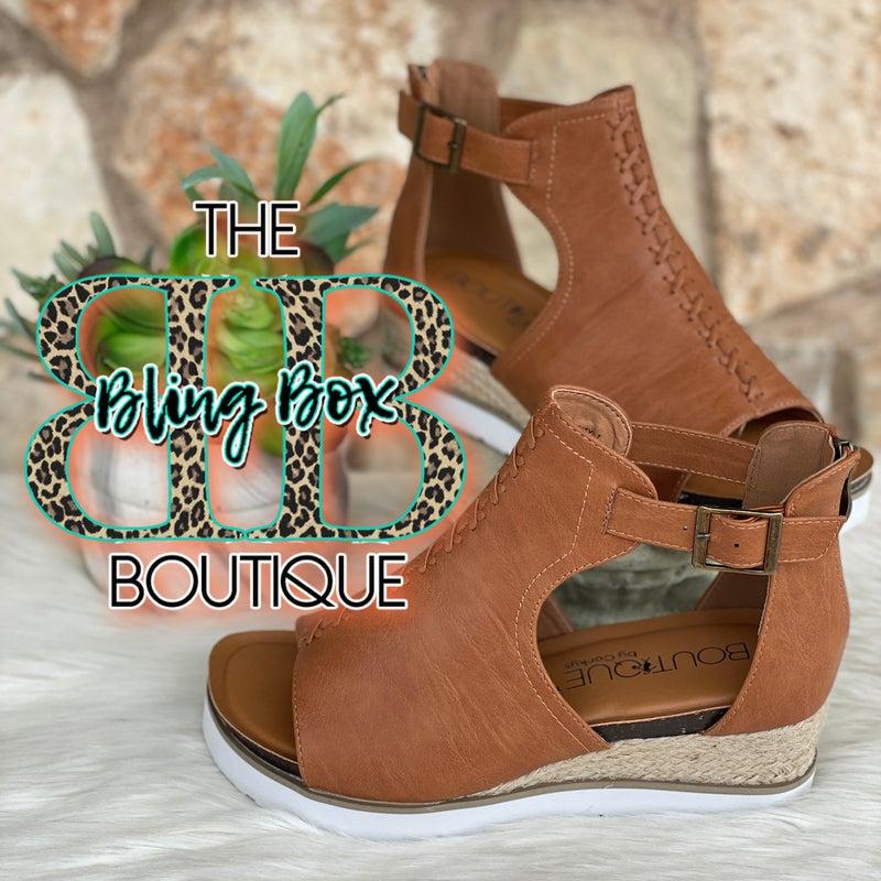 Corkys Sugar City Cognac Shoe