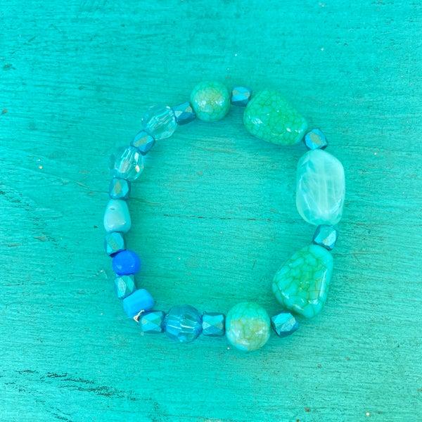 Bonnie Angela Turquoise Stretch Bracelet #6