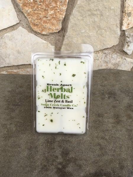 Swan Creek Lime Zest & Basil Herbal Melts