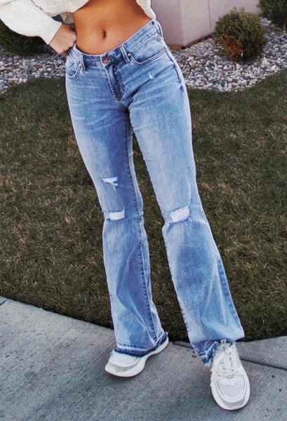Rosie Flare Maple Denim Jeans