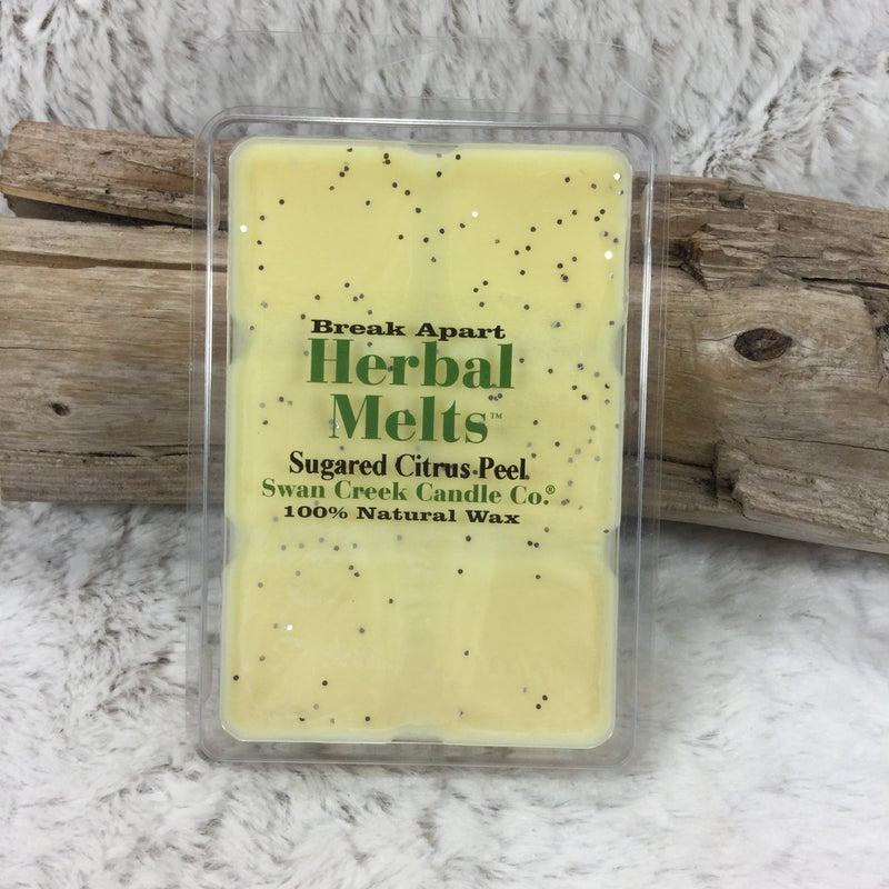 Swan Creek Sugared Citrus Peel Herbal Melts