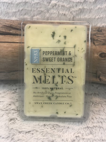 Swan Creek Peppermint & Sweet Orange Essential Oil Melts