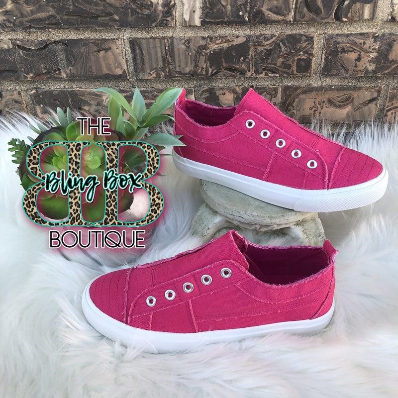 Corkys Babalu Slip On Sneaker - HOT PINK