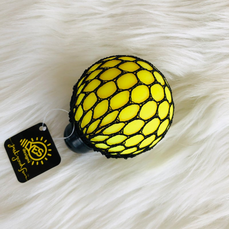 Yellow & Orange Squeeze Me Stress Ball