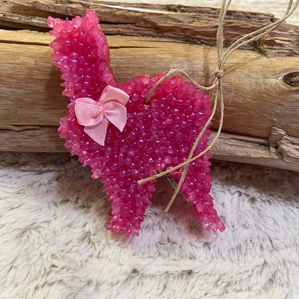 Cruisin' Goat Hause Dairy Pink Cat Freshie