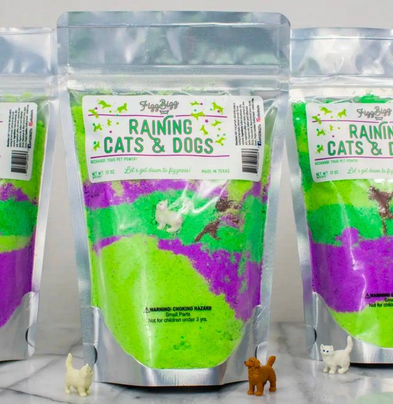 Raining Cats & Dogs - Kids Bath Salts - 12 Oz.