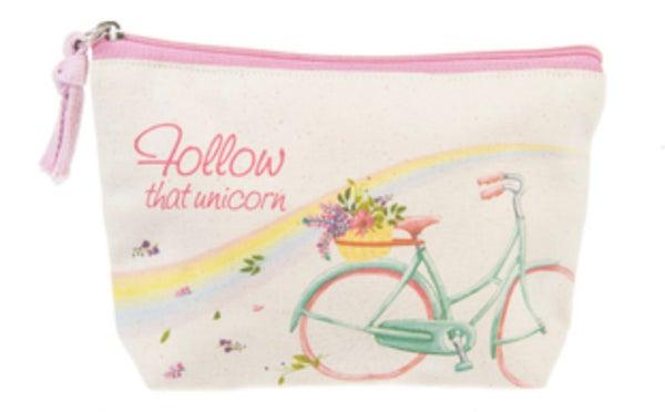Follow That Unicorn Zipper Bag
