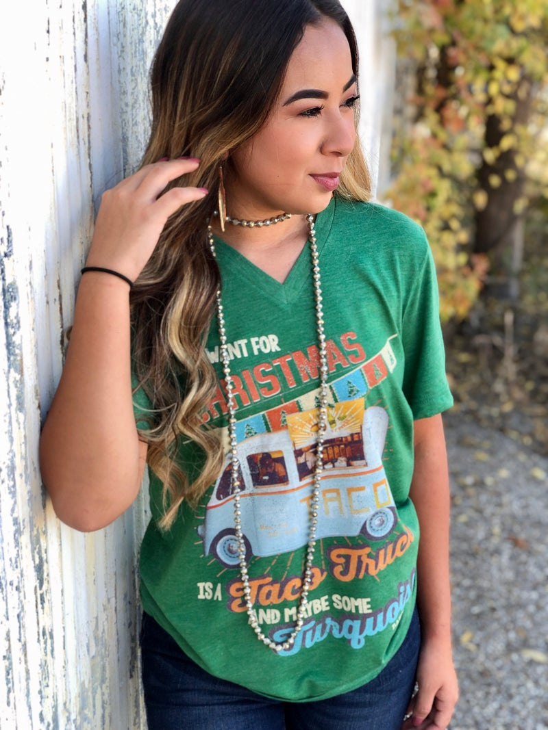 All I want for Christmas is a Taco Truck & Turquoise