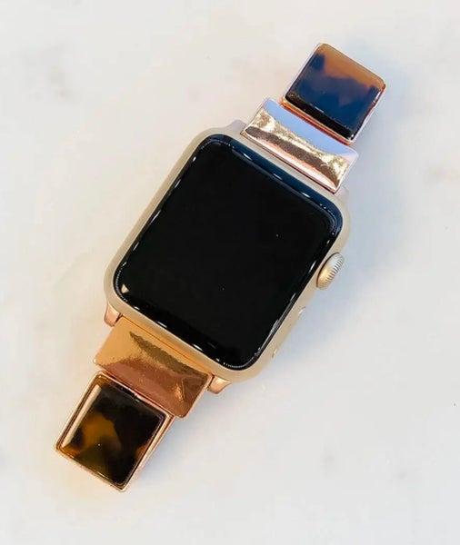 Brown Tortoise Shell Apple Watchband 38/40 mm