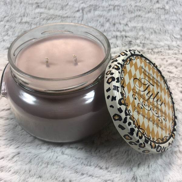 Tyler 22 Oz Manly Man 2 Wick Candle