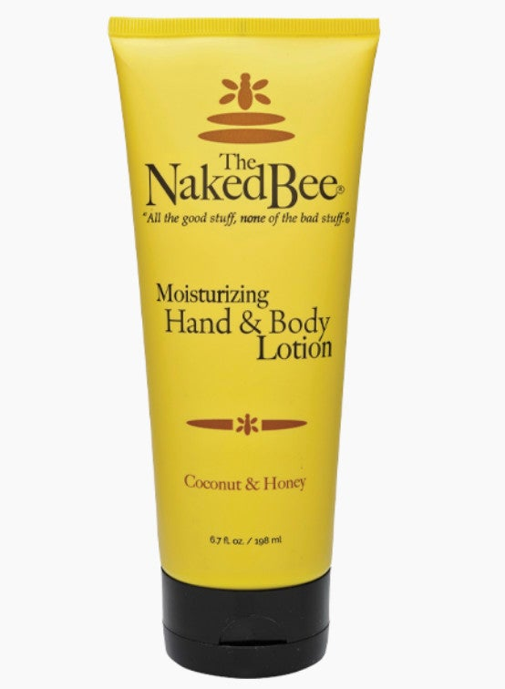 The Naked Bee 6.7 oz. Coconut & Honey Moisturizing Hand & Body Lotion