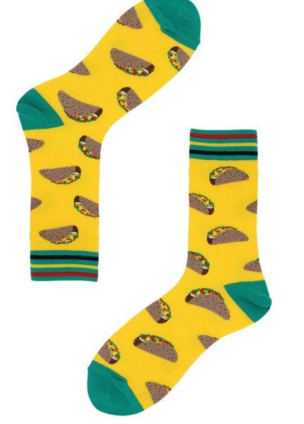 Unisex Taco Socks