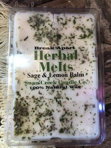 Swan Creek  Sage & Lemon Balm Herbal Melts