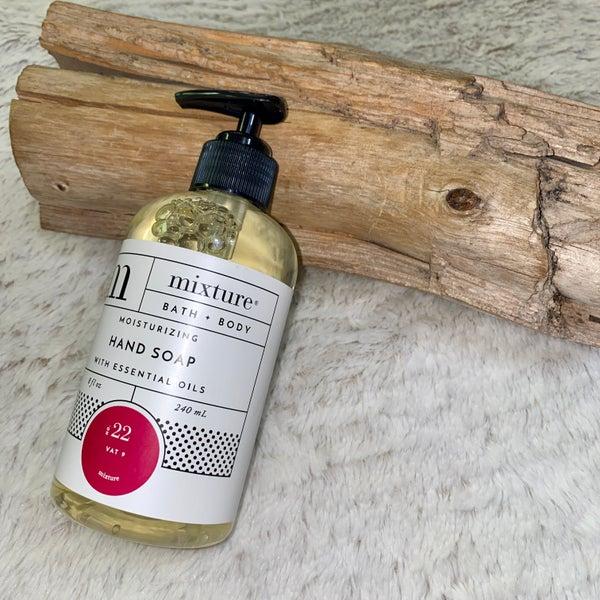 Mixture 8 oz No 22 Vat 9 Bath & Body Moisturizing Hand Soap with Essential Oils