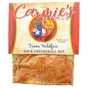 Texas Wildfire Dip & Cheeseball Mix