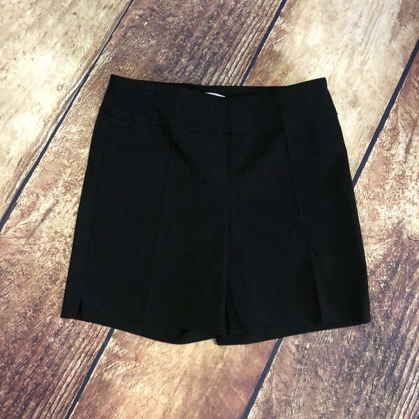 Black Solid Millennium Pull on Shorts