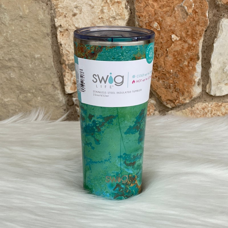 Copper Patina Signature 22oz Tumbler