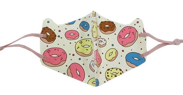 Kids Donut Printed Mask