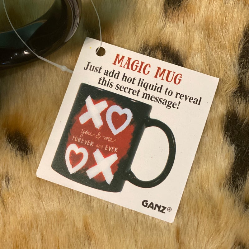 XOXO Black Love Mug