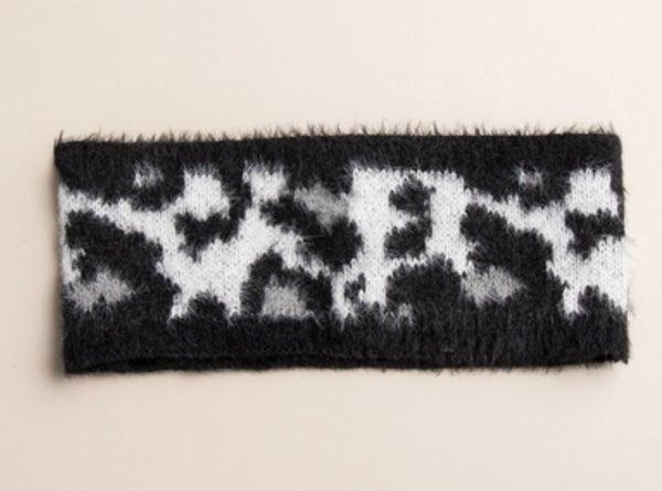 Snow Leopard Winter Headwrap