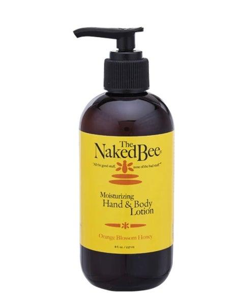 The Naked Bee 8 oz. Orange Blossom Honey Moisturizing Hand & Body Pump Lotion