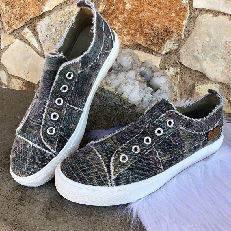 Babalu Camo Slip on Sneaker