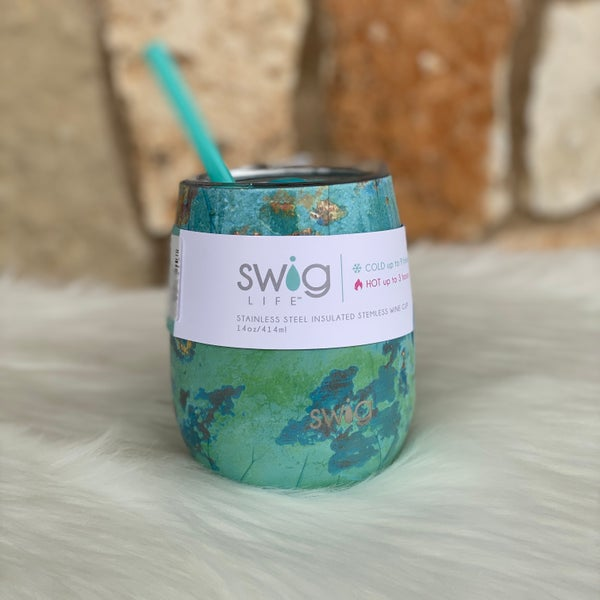 Copper Patina Signature 14oz Stemless Cup