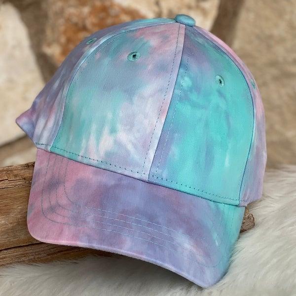 Tie Dye Dark Mix Baseball Cap
