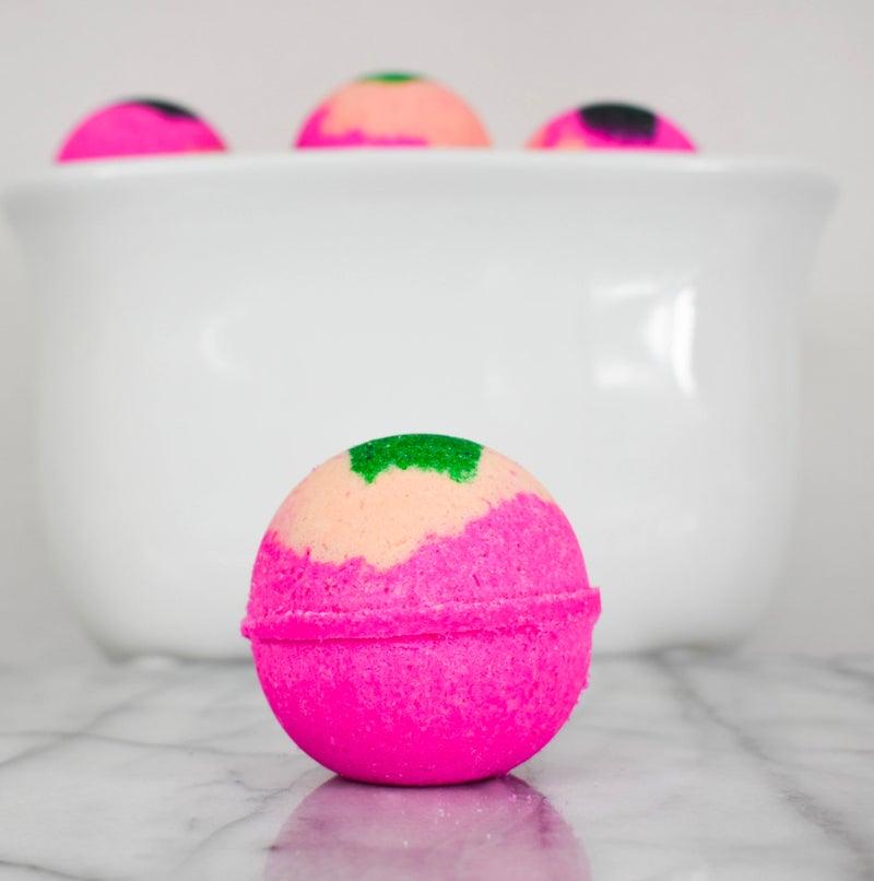 Strawberry Melon Bath Bombs - 5.5 oz