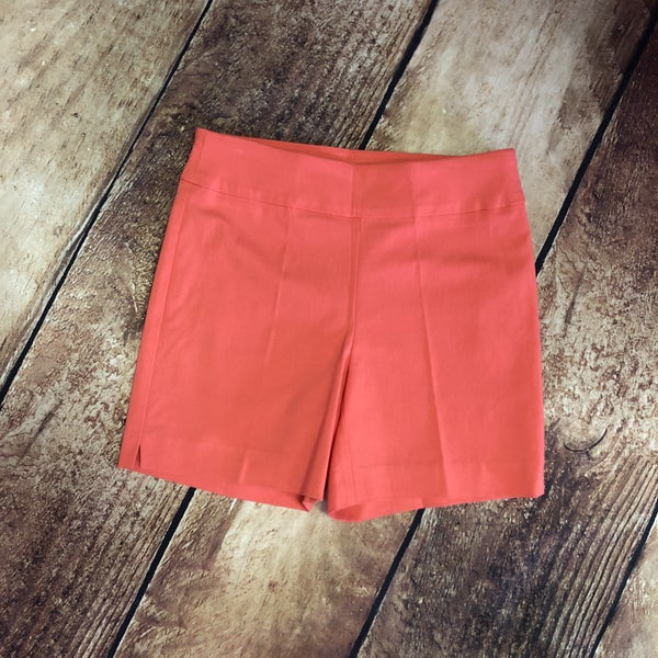 Coral Solid Millennium Pull on Shorts
