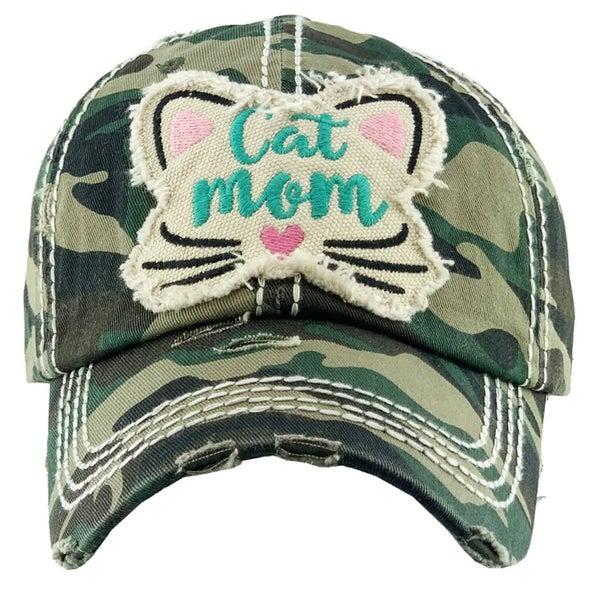 Camo Cat Mom Hat