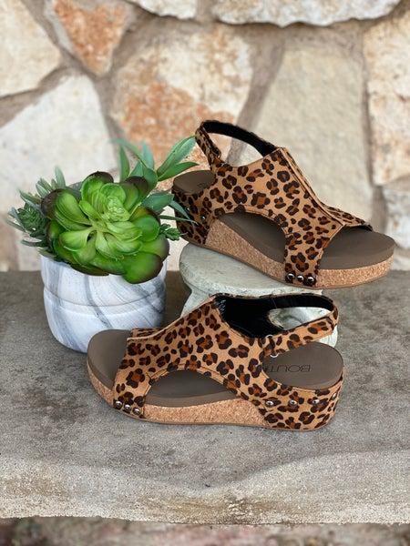Corky's Volta Leopard Sandal