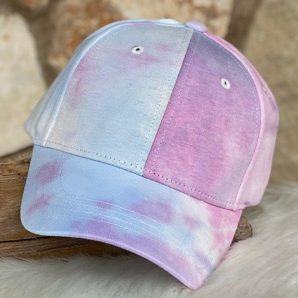 Tie Dye Light Mix Baseball Cap