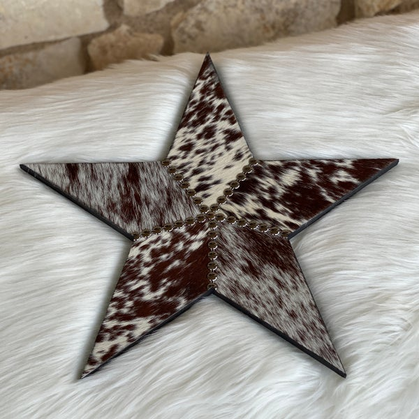 "16"" Cowhide Mix Star"