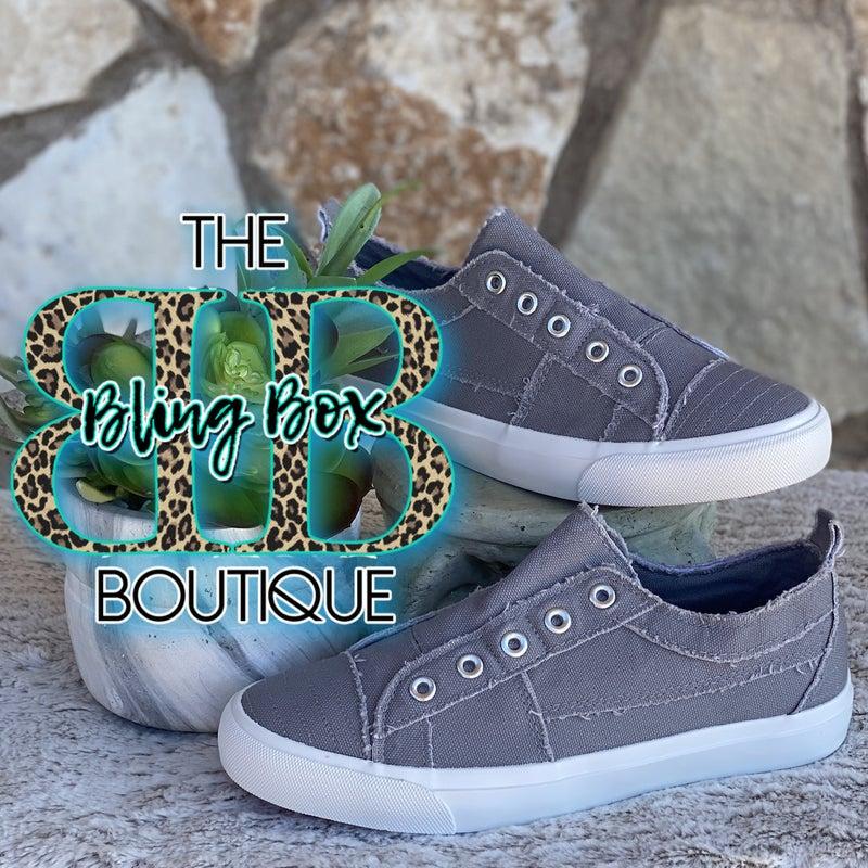 Corkys Grey Babalu Slip On Sneaker