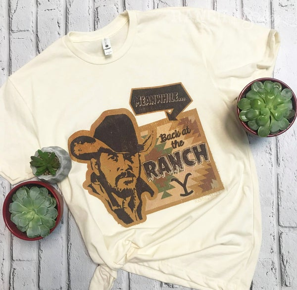 Meanwhile Back at The Ranch RIP T-Shirt
