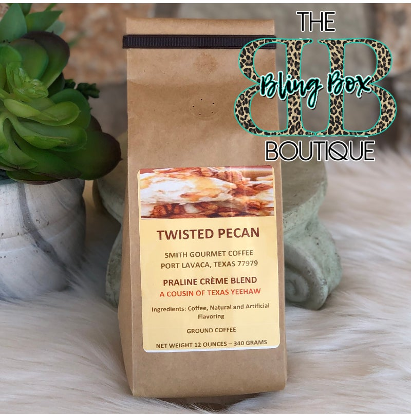 Twisted Pecan Praline Creme Blend Gourmet Ground Coffee