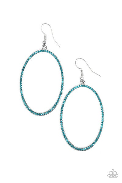 Dazzle On Demand - Blue Earring