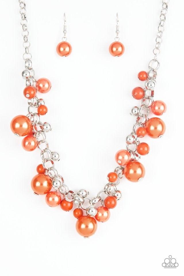 The Upstater - Orange Necklace