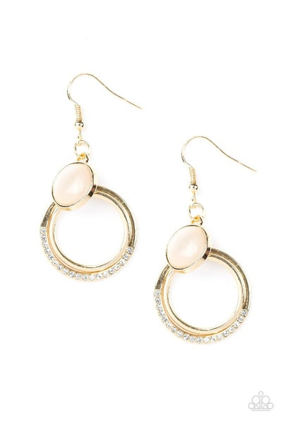 Dreamily Dreamland - Gold Earring