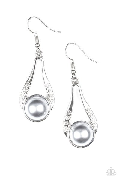HEADLINER Over Heels - Silver Earring