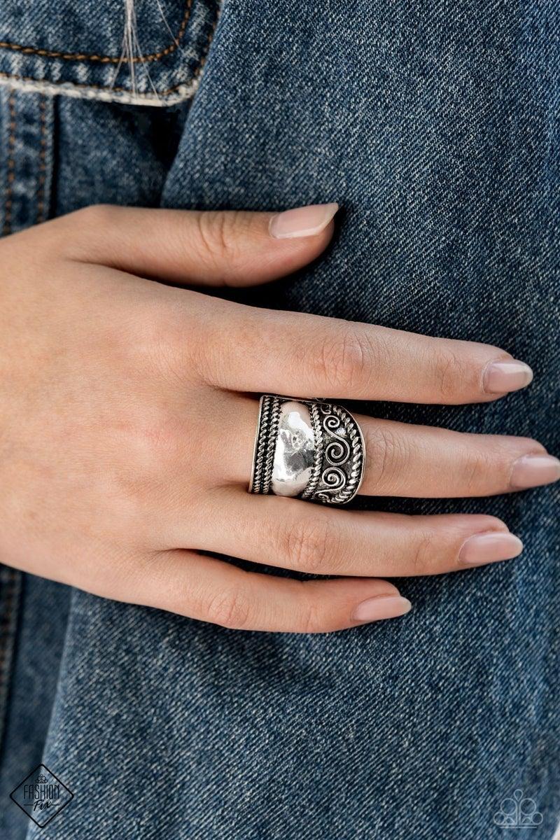 Texture Tantrum - Silver Ring