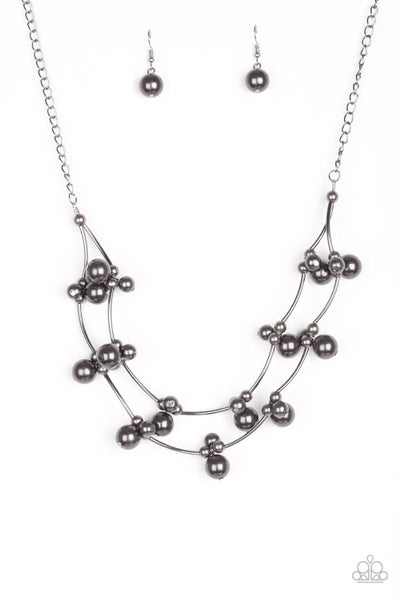 Wedding BELLES - Black necklace
